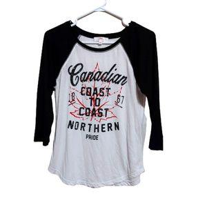 EH Canadian Coast to Coast Northern Pride top